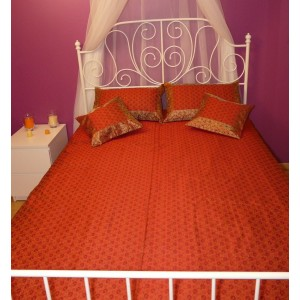 Parrure de lit en brocard Sultane
