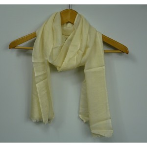 Echarpe en laine et soie Yves